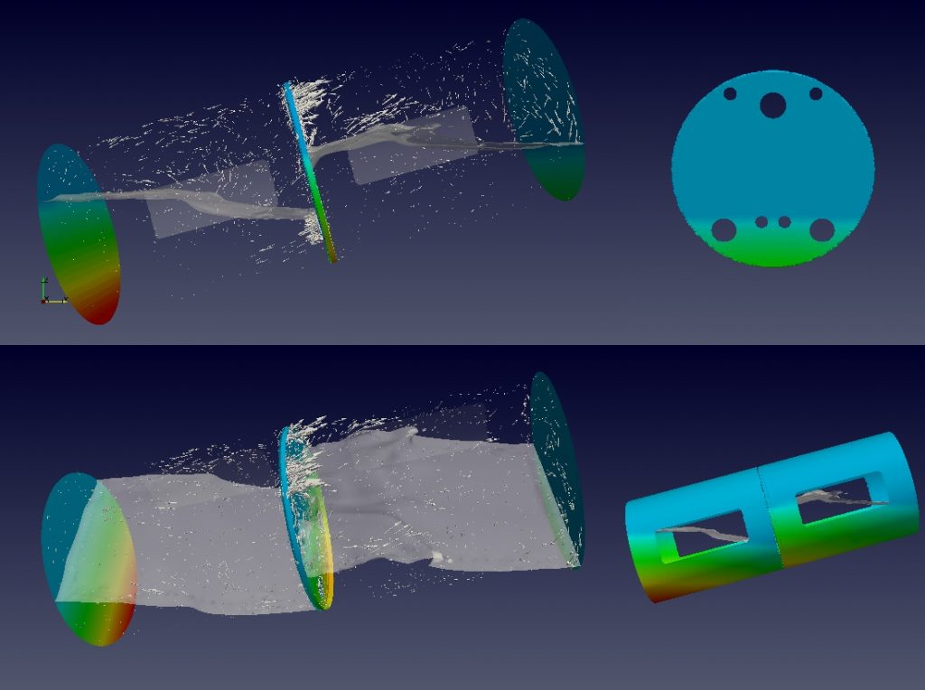 Fuel Tank Sloshing Simulation Done by the CSIR